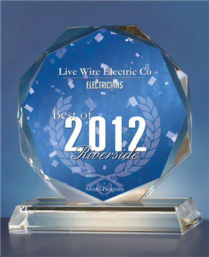 Best Commercial Electrician Award - Riverside, CA